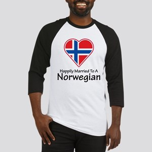 Happily Married Norwegian Baseball Jersey