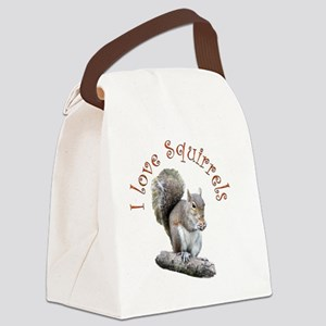 sqLOVE Canvas Lunch Bag