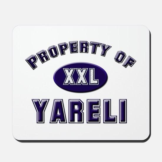 My heart belongs to yareli Mousepad
