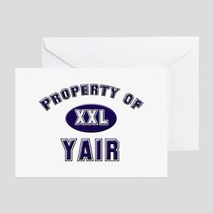 My heart belongs to yair Greeting Cards (Package o