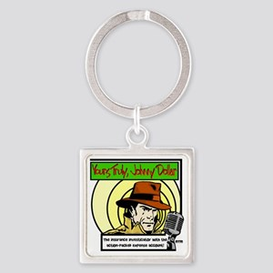 Yours Truly Johnny Dollar color Square Keychain
