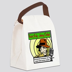 Yours Truly Johnny Dollar color Canvas Lunch Bag