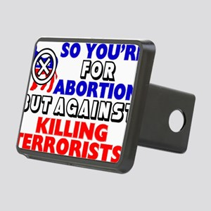 TERRORISTSHIRT Rectangular Hitch Cover