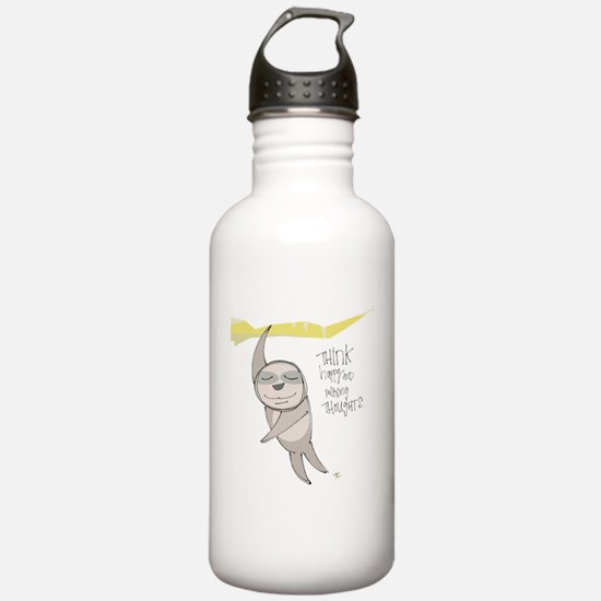 Nothing But Happy Thoughts Water Bottle