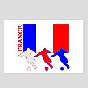 Soccer France Postcards (Package of 8)
