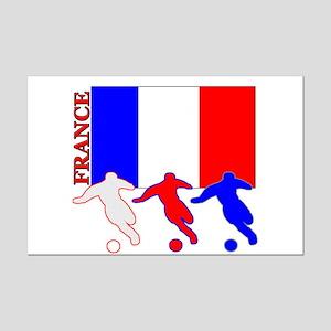 Soccer France Mini Poster Print