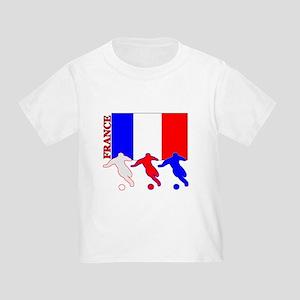 Soccer France Toddler T-Shirt
