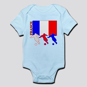 Soccer France Infant Bodysuit