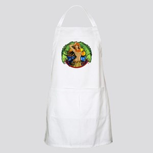 Hawaiian Hula Girl BBQ Apron