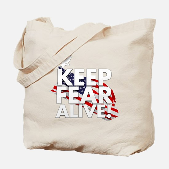 keep fear alive t-shirt Tote Bag