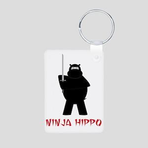 NinjaHippo Aluminum Photo Keychain