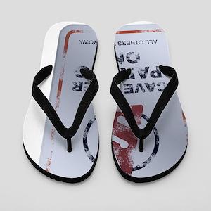 2-cave-diver-parking-big Flip Flops