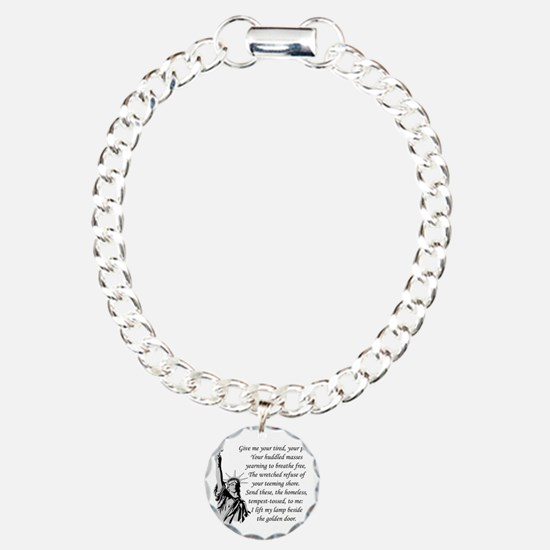 Statue-of-Liberty-quote- Bracelet