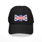 Black TRUE BRIT Cap