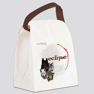 4-Twilight Eclipse Movie  Wolf Pa Canvas Lunch Bag