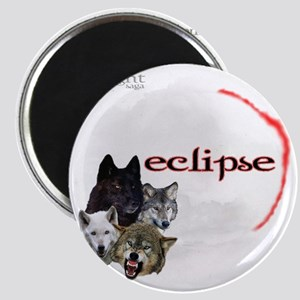 4-Twilight Eclipse Movie  Wolf Pack Moon Re Magnet