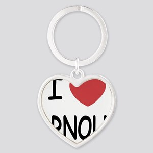 ARNOLD Heart Keychain