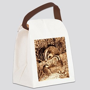 Badgers Canvas Lunch Bag