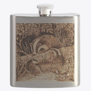 Badgers Flask