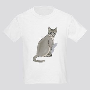 Grey cat Kids T-Shirt