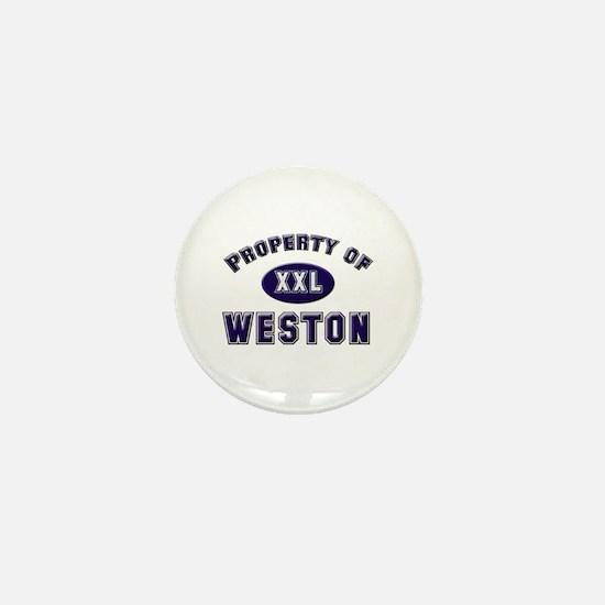 My heart belongs to weston Mini Button