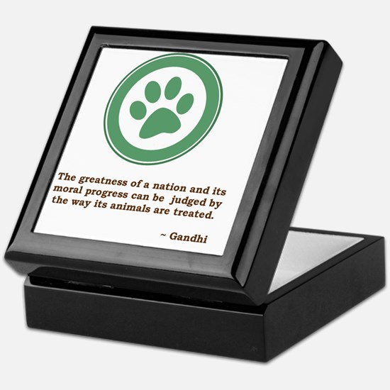 GandhiGreenPaw Keepsake Box