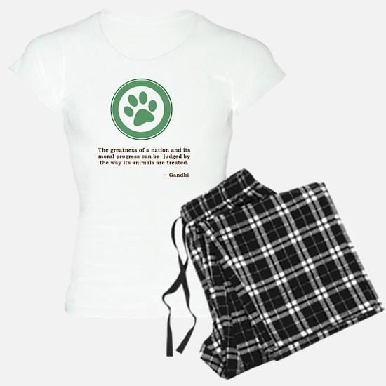 GandhiGreenPaw Pajamas
