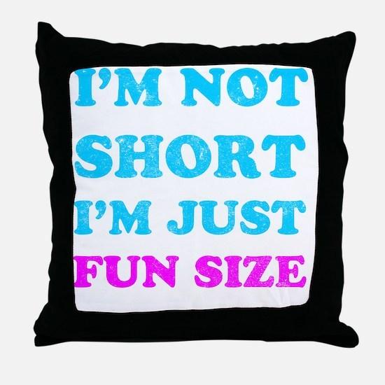 funsize Throw Pillow