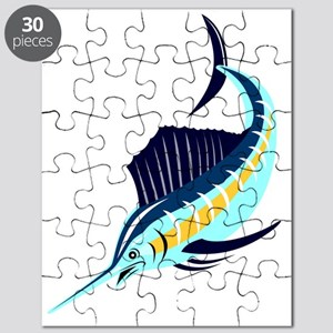 sailfish diving down Puzzle