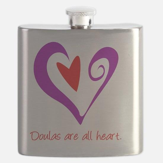 DoulasHeartPurple Flask