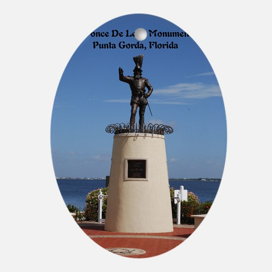 Ponce De Leon42x28 Oval Ornament