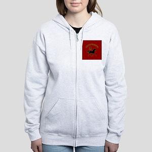 horse_lapel-sticker Women's Zip Hoodie