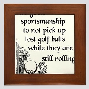 Golfsport3 Framed Tile