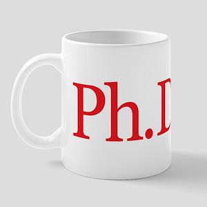 PhDone Red Mug