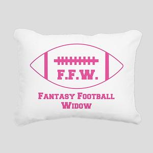 2-fantasy-football-widow Rectangular Canvas Pillow