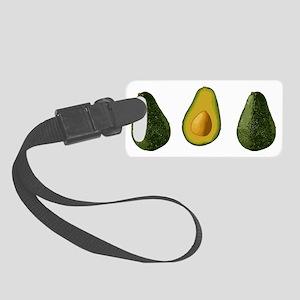 avocados_3 Small Luggage Tag