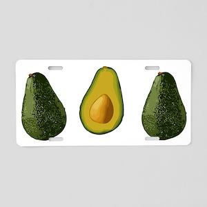 avocados_3 Aluminum License Plate
