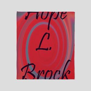 Hope print Throw Blanket