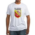 9th Signal Command Fitted T-Shirt