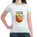 9th Signal Command Jr. Ringer T-Shirt