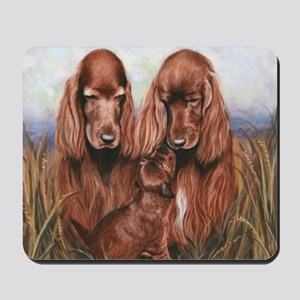 Irish_Setter_Dogs Mousepad