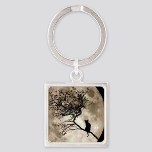 catmoonmp Square Keychain