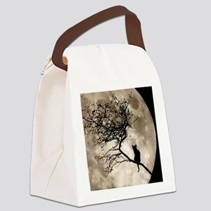catmoonmp Canvas Lunch Bag