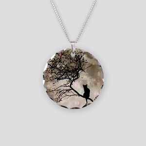 catmoonmp Necklace Circle Charm