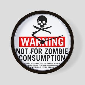 ZombieConsumptionNoBG2 Wall Clock