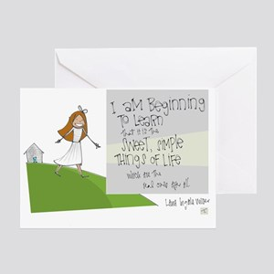 What Really Matters Greeting Cards