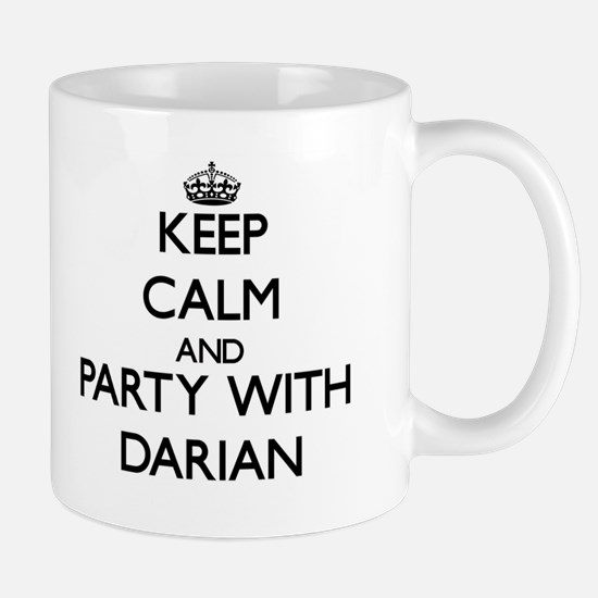 Keep Calm and Party with Darian Mugs