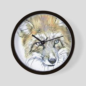 Fascinating altered animals -Fox Wall Clock