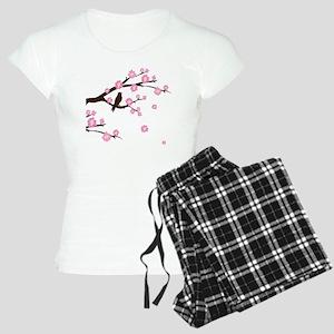 cherry blossoms Women's Light Pajamas
