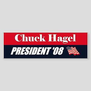 Chuck Hagel 2008 President Bumper Sticker